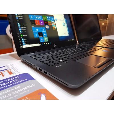 HP Zbook i7 16 gb