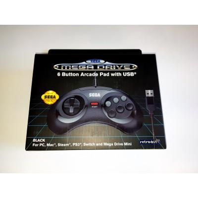Mando Sega 6 button